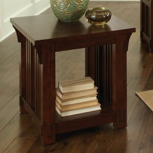 Corbeil End Table by Loon Peak