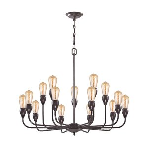 Sanford 15-Light Candle-Style Chandelier