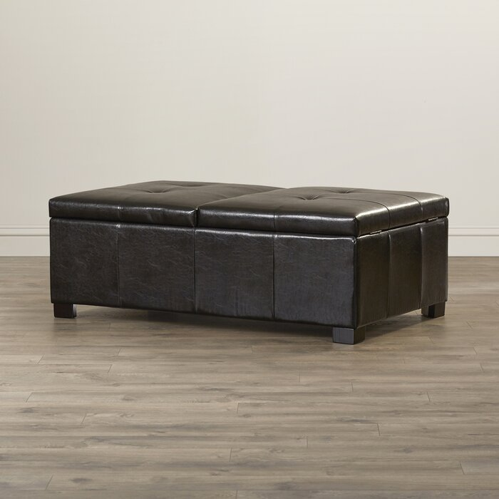 Fantastic Grissom Tufted Storage Ottoman Andrewgaddart Wooden Chair Designs For Living Room Andrewgaddartcom