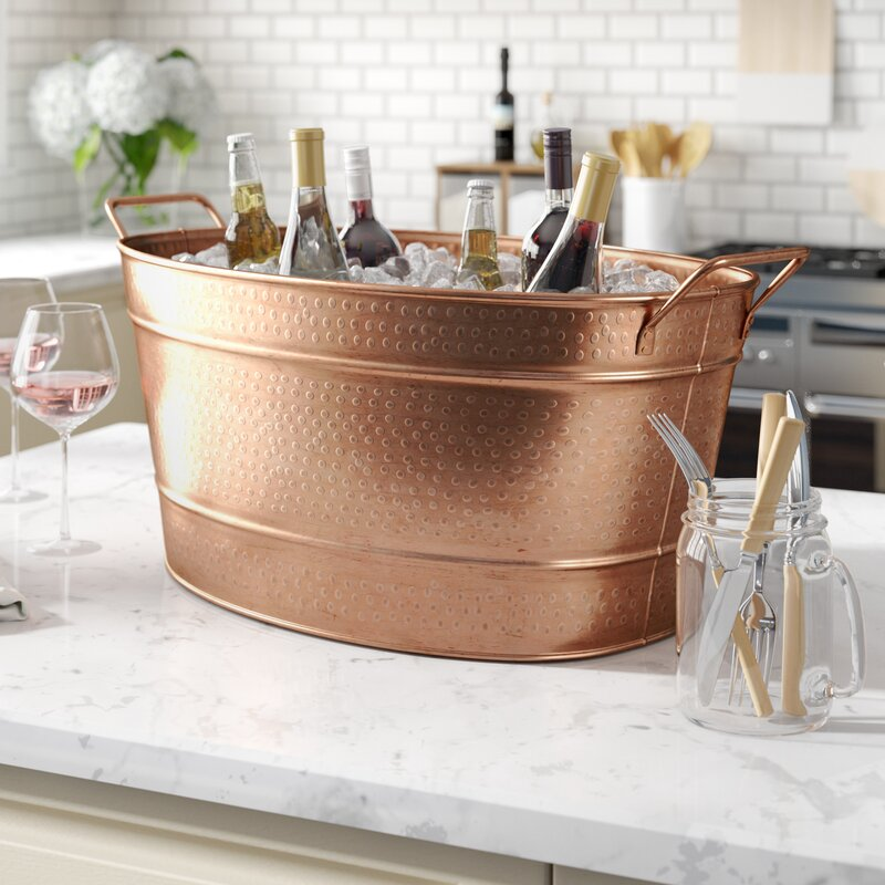 Exceptionnel Netherfield Copper Beverage Tub