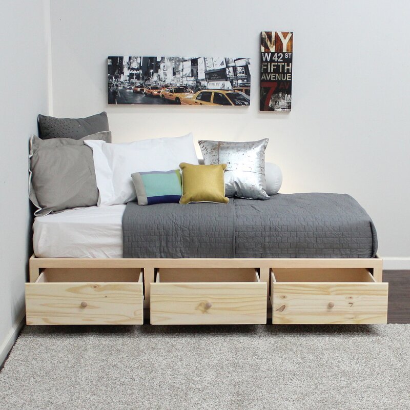 Gothic Furniture Twin Panel Bed & Reviews