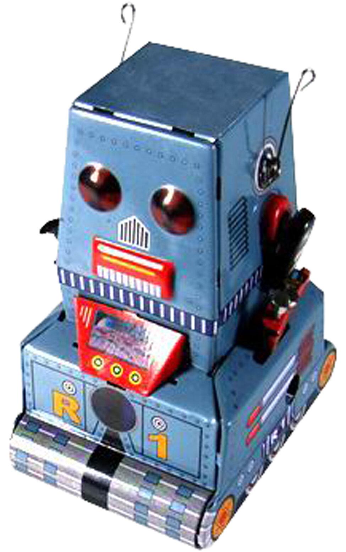 Alexander Taron Collectible Decorative Tin Toy Robot | Wayfair