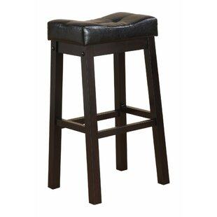 LaGuardia Wooden Sofie Backless 30 Bar Stool (Set of 2)