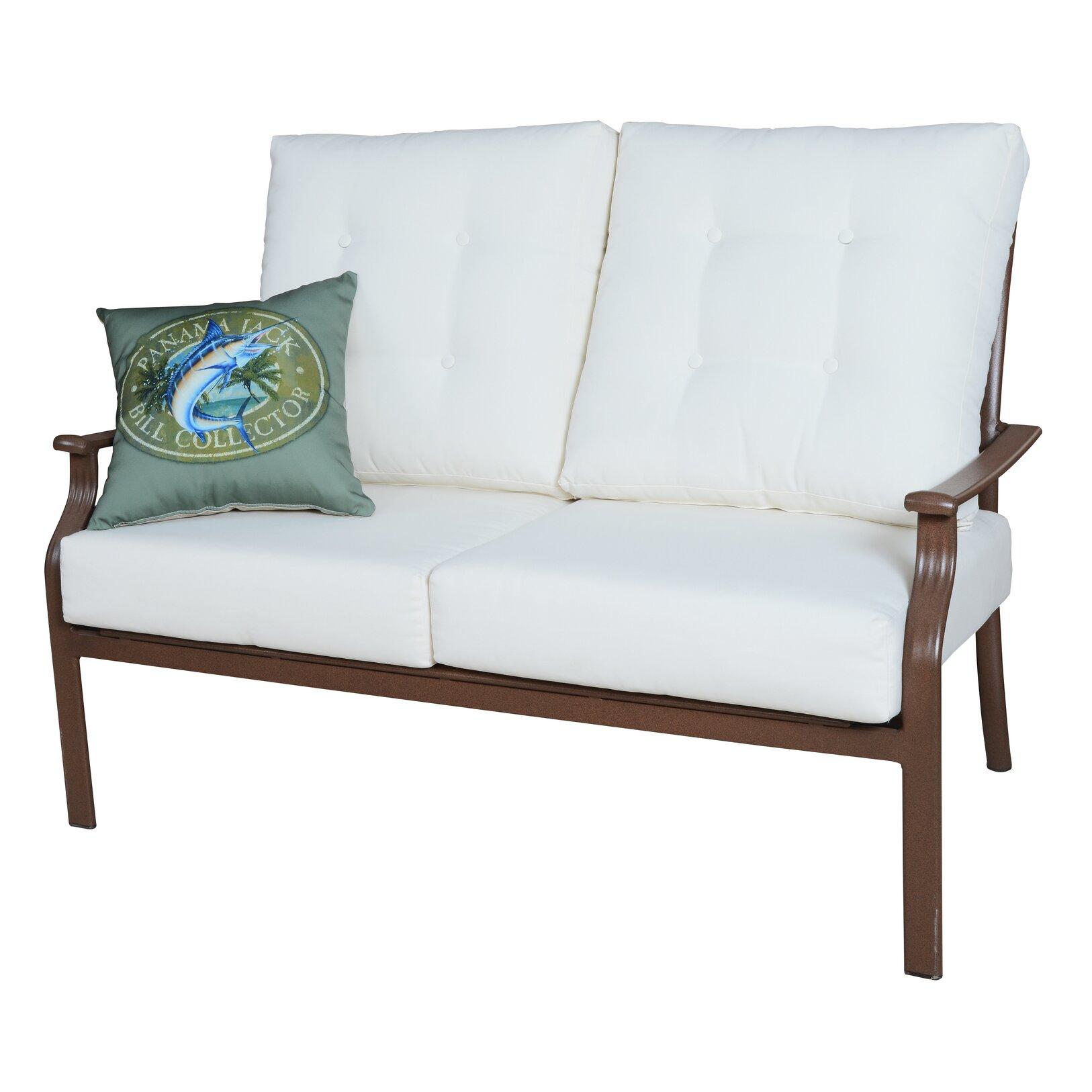 Panama Jack Island Breeze Deep Seating Loveseat with Cushions & Reviews | Wayfair