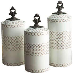 White Kitchen Canisters U0026 Jars Youu0027ll Love | Wayfair