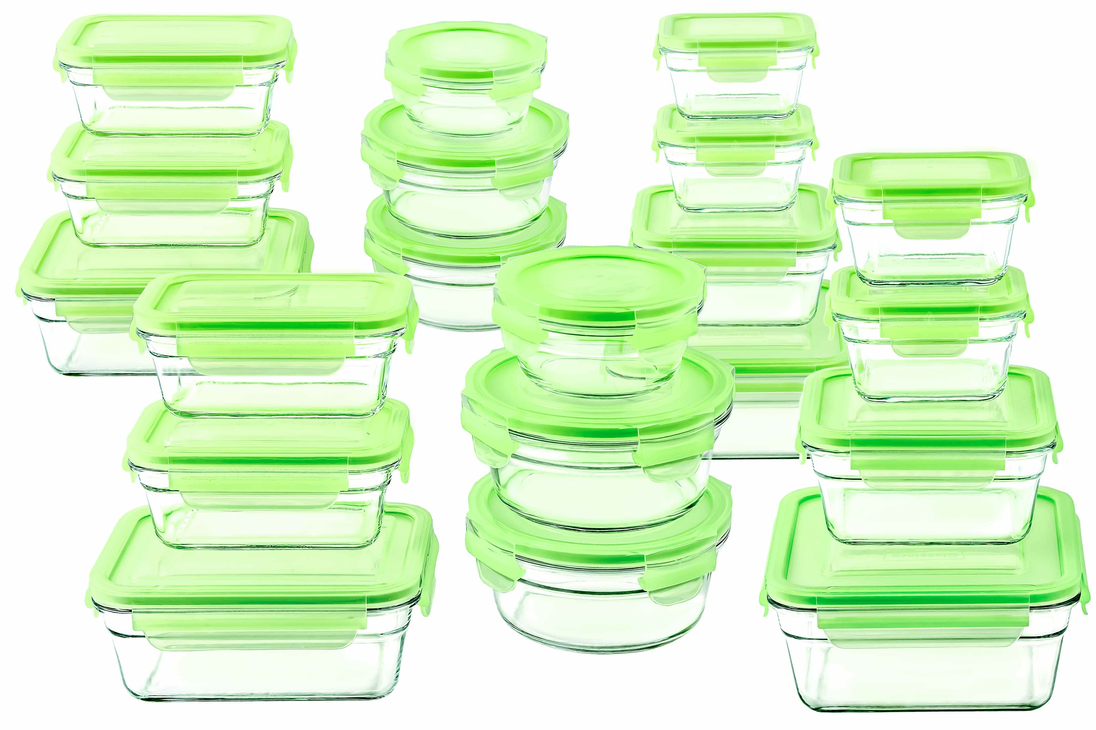 Glasslock Glasslock 20 Container Food Storage Set U0026 Reviews | Wayfair
