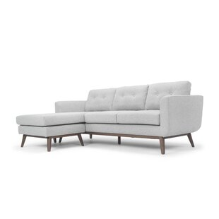 Modern Contemporary Light Gray Sectional Allmodern
