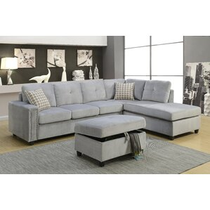 Belville Reversible Sectional by ACME Furnit..