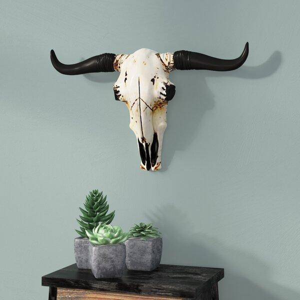 fc9bdb1d Steer Skull Wall Decor | Wayfair