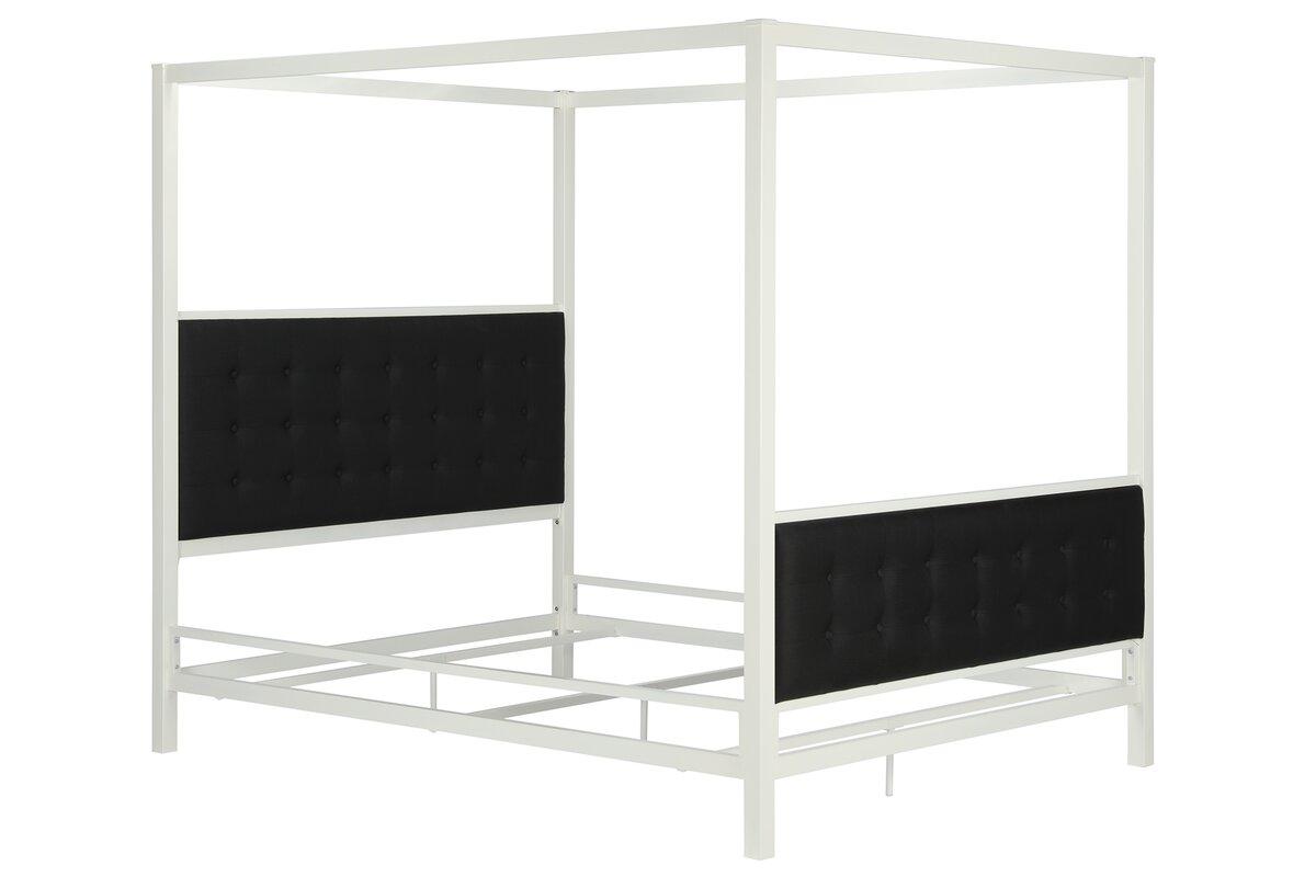 Soho Queen Canopy Bed  sc 1 st  Wayfair & DHP Soho Queen Canopy Bed u0026 Reviews | Wayfair