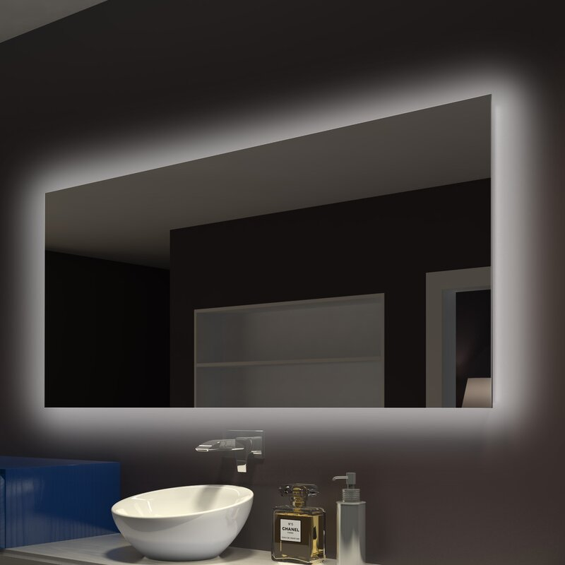 Moumoune Backlit Wall Mounted Vanity Mirror