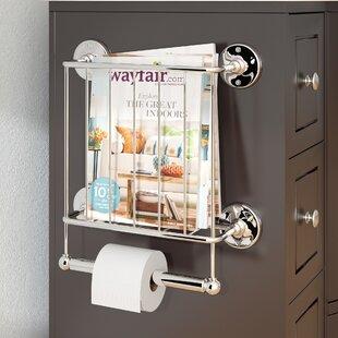 medlock magazine rack - Bathroom Magazine Rack