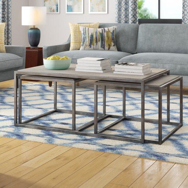 Merveilleux Modern Rustic Interiors 3 Piece Nested Coffee Table Set U0026 Reviews | Wayfair
