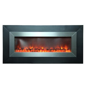 Stunner Wall Mount Electric Fireplace by Y Decor