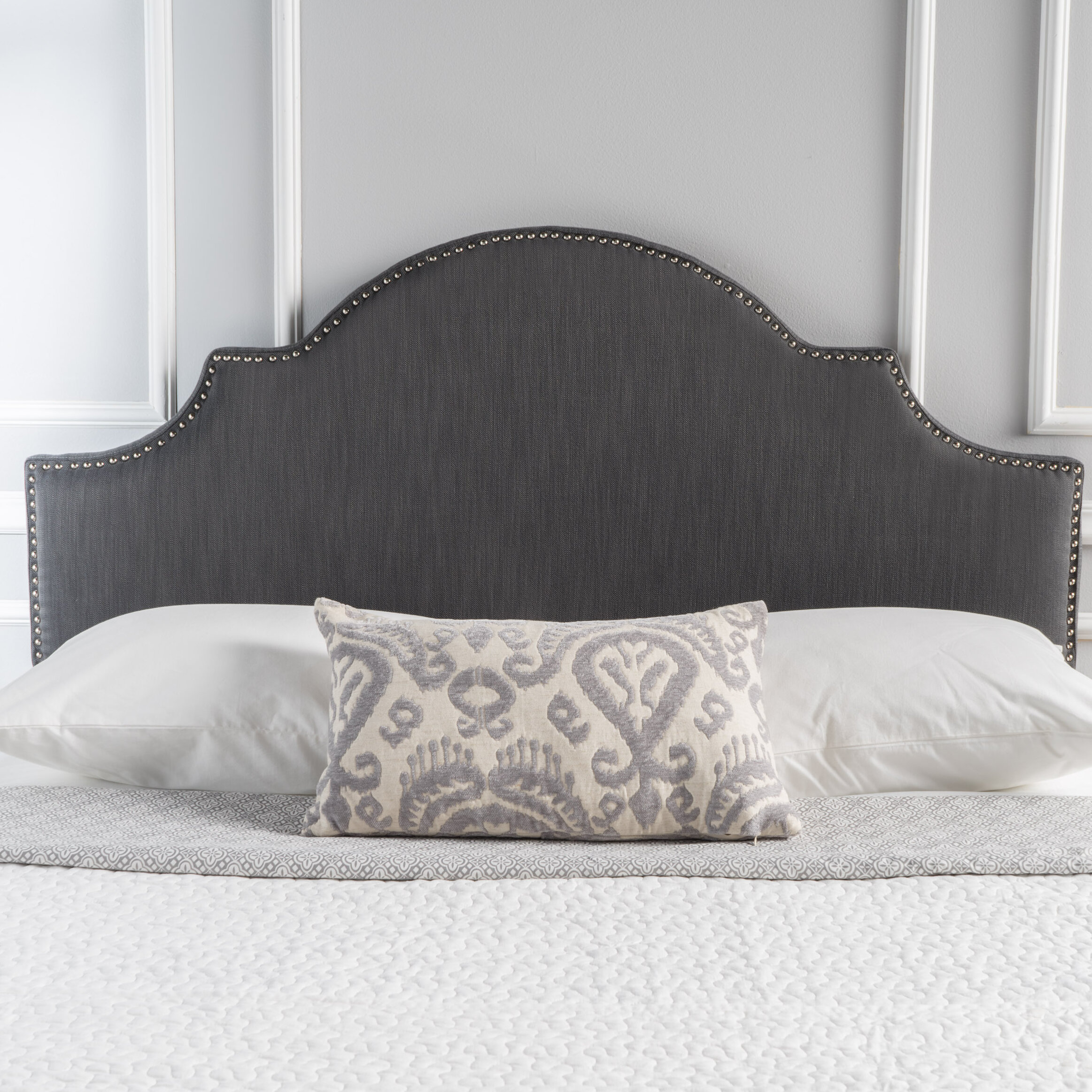 dark headboard footboard size velvet queen white nailhead grey tufted gray plush full fabric brown bed and upholstered