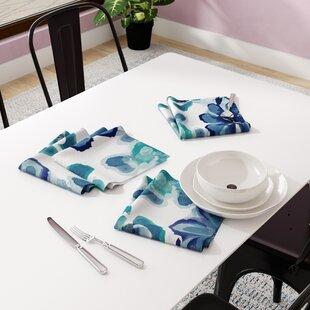 aqua cloth napkins wayfair