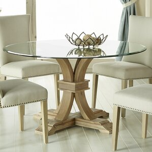 Chairs For Glass Dining Table glass kitchen & dining tables you'll love | wayfair