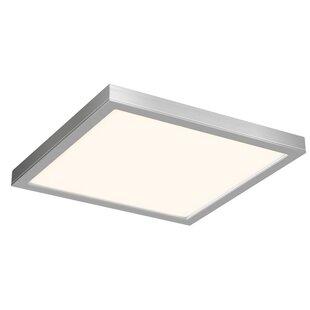 rectangular flush mount ceiling light contemporary quickview squarerectangle flush mounts semi youll love wayfair