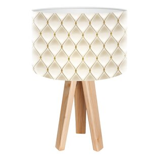 Shabby chic table lamp wayfair paris chic 45cm tripod table lamp mozeypictures Gallery