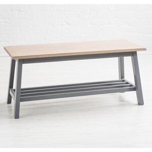 Sitzbank Hudson aus Holz mit Stauraum von Maine Furniture Co.