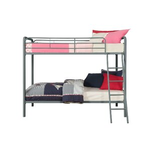 Maryanne Twin Over Twin Bunk Bed by Vi..