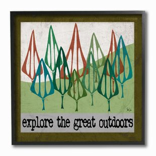 u0027Explore The Great Outdoorsu0027 Wall Art  sc 1 st  Wayfair : outdoor wall art pictures - www.pureclipart.com