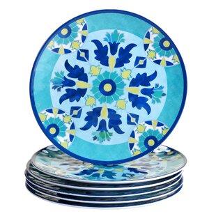 Granada 11  Heavy Weight Melamine Dinner Plate (Set of 6)  sc 1 st  Wayfair & Light Weight Dinner Plates | Wayfair
