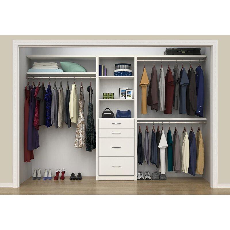 Ecreations 50 W 121 Closet System