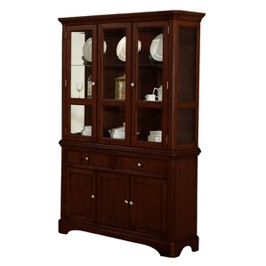 Harpster Lighted China Cabinet by Alcott ..