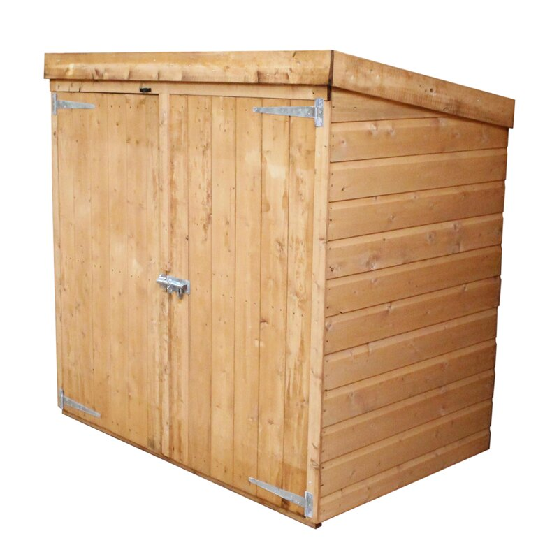 Mercia Garden Products X Wooden Shiplap Storage Shed Reviews