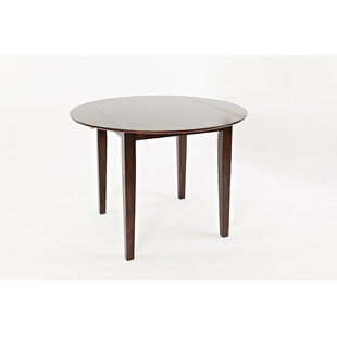 Markowski Contemporary Wooden Drop Leaf Dining Table