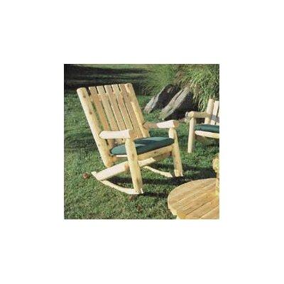 Chilton Indoor/Outdoor Cedar High Back Rocking Chair
