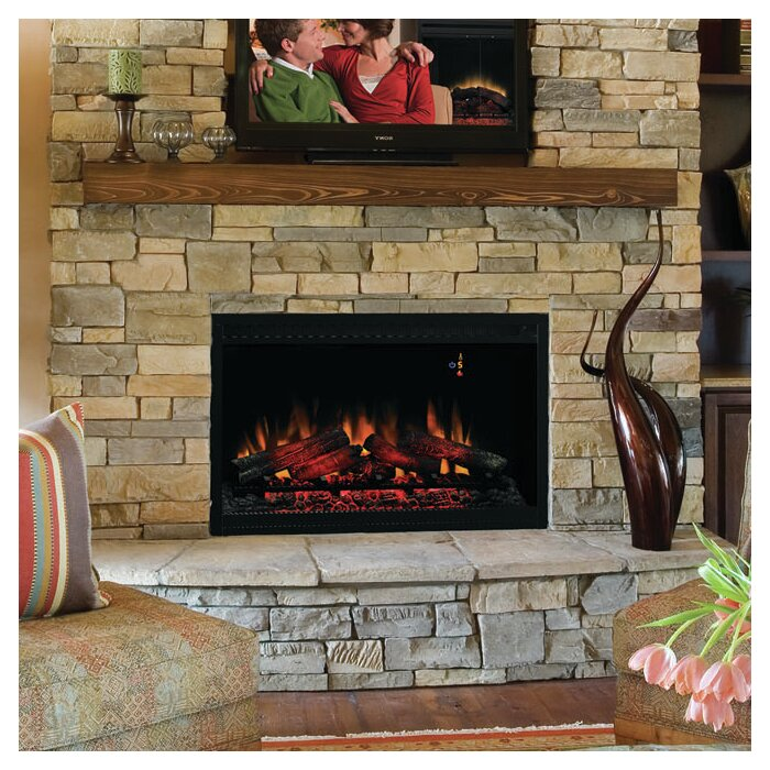 amazon contemporary volt insert inserts grc com built in kitchen electric dp classicflame fireplace home