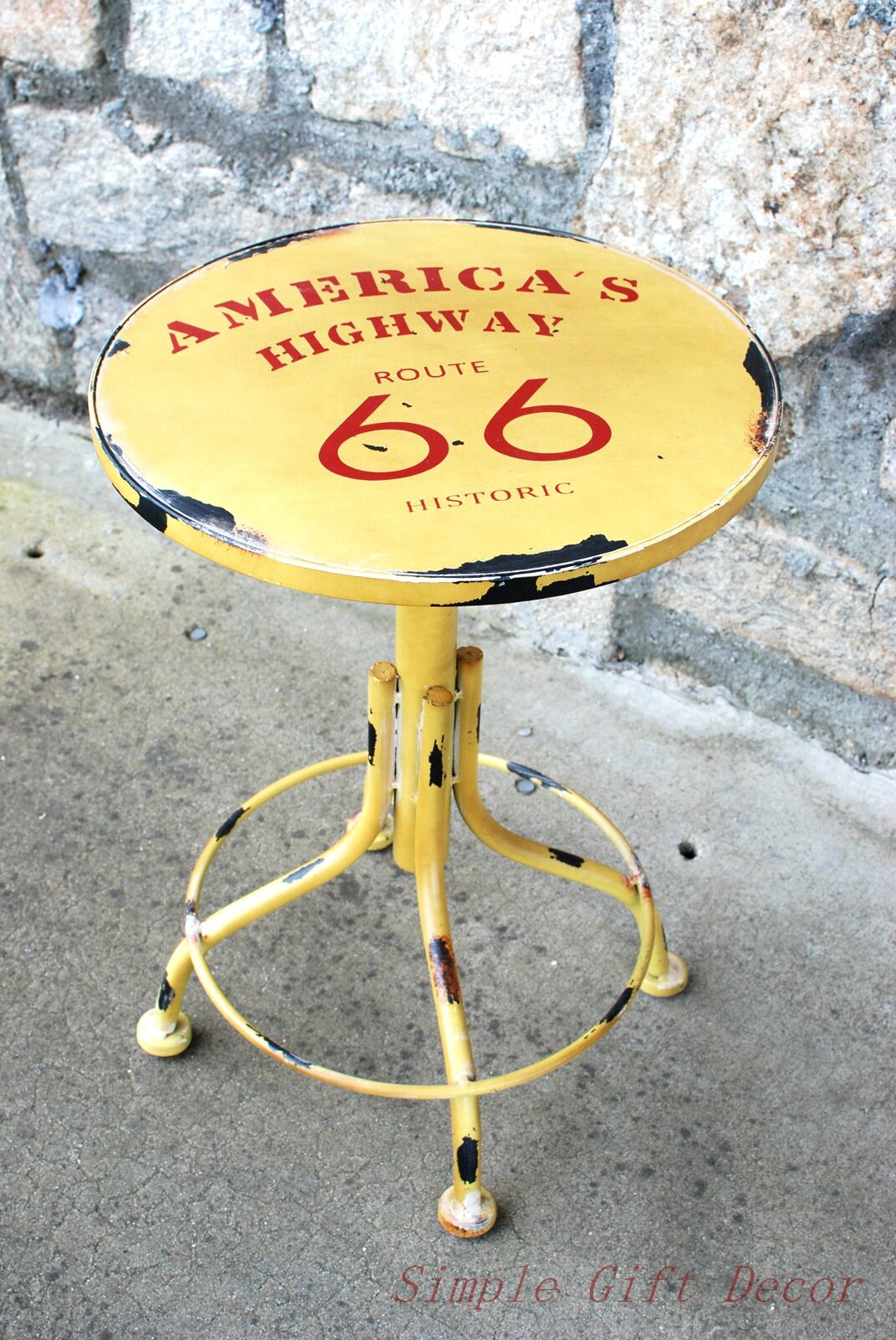 AttractionDesignHome Route 66 Stool | Wayfair