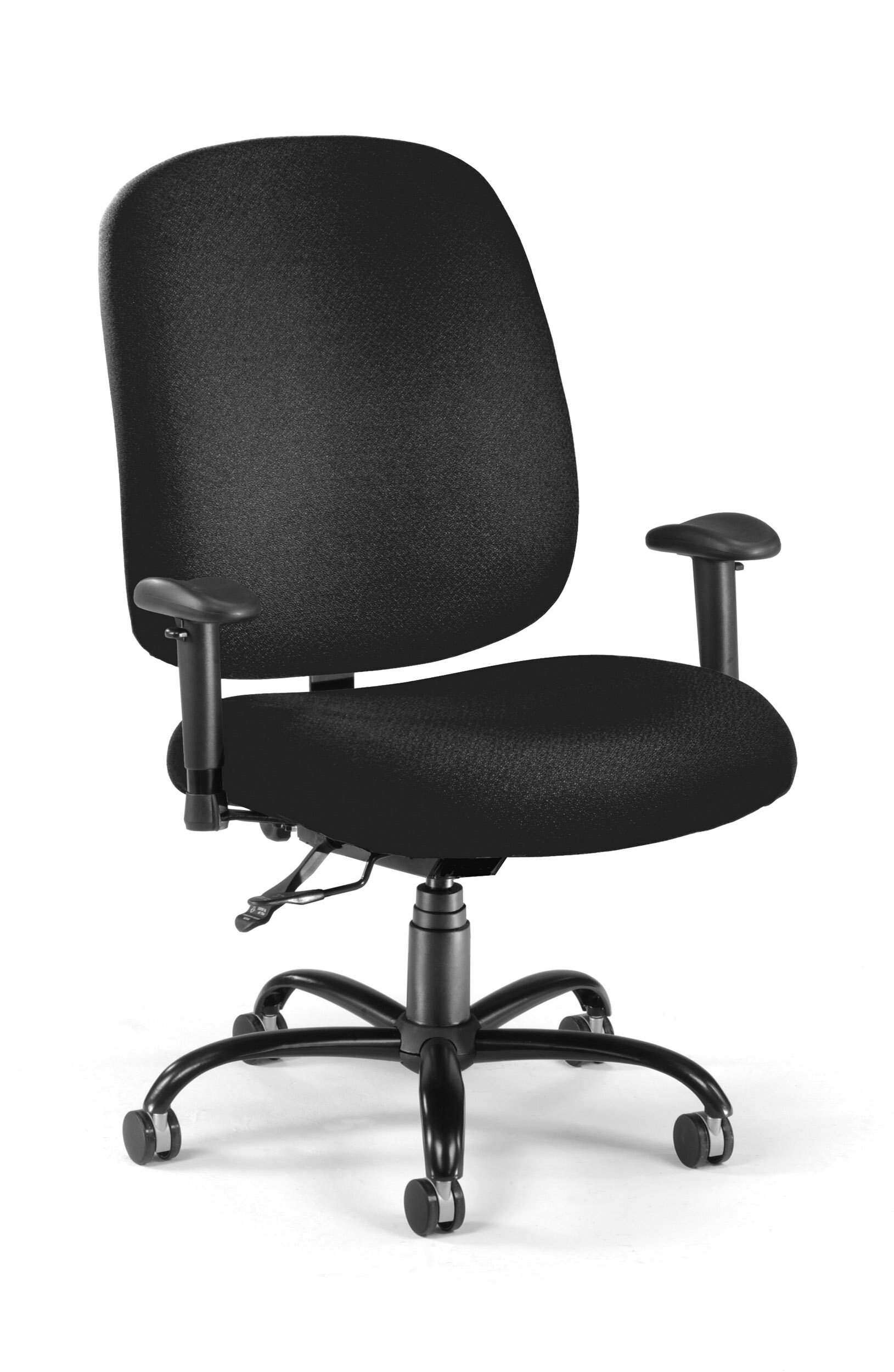 Ofm big and tall high back desk chair wayfair