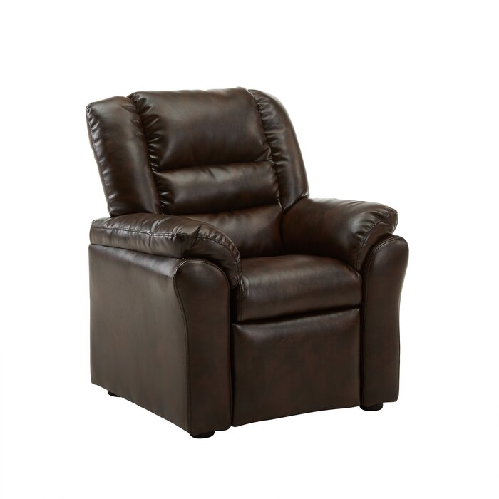 Lovely Hunter Recliner Kids Faux Leather Chair