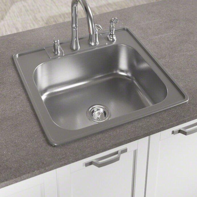 Kitchen Sink 25 X 22 Mrdirect stainless steel 25 x 22 drop in kitchen sink with stainless steel 25 x 22 drop in kitchen sink with additional accessories workwithnaturefo