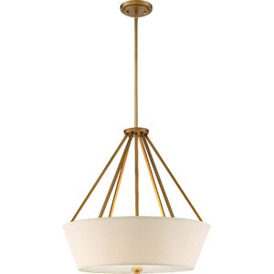 Bellvue 4-Light Drum Pendant