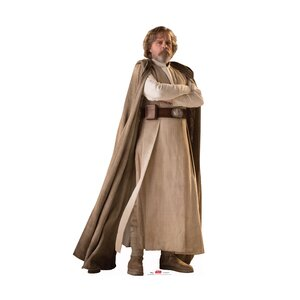 Star Wars VIII the Last Jedi Luke Skywalkeru2122 Cardboard Cutout Standup