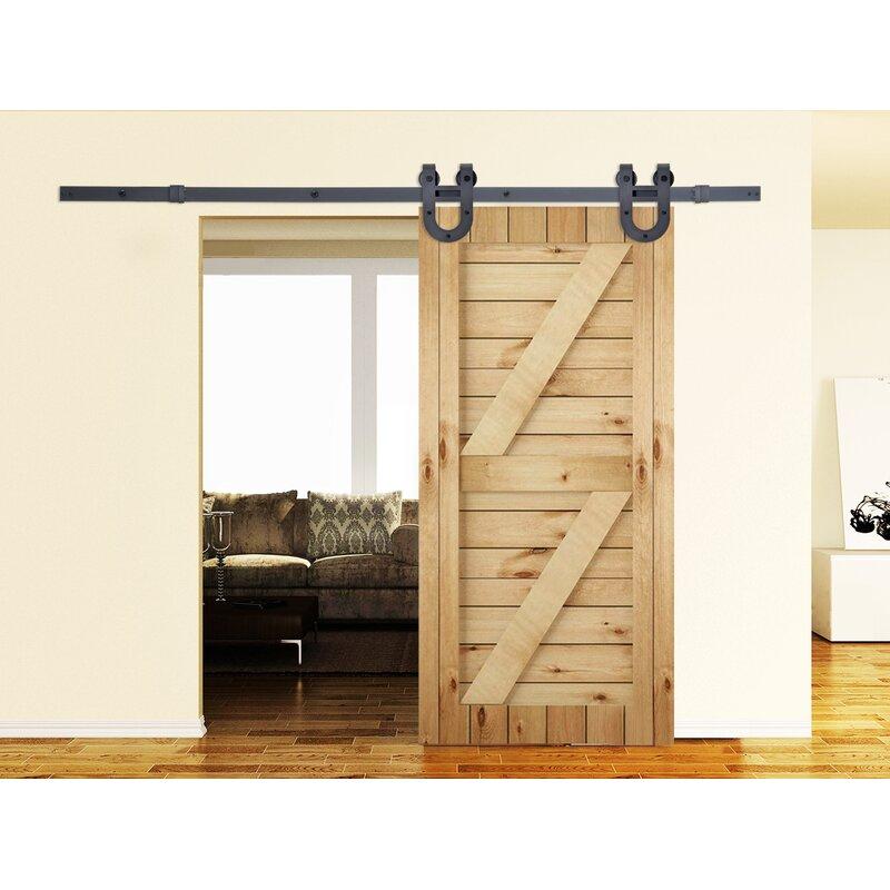 Clic Horseshoe Style Sliding Door Track Barn Hardware