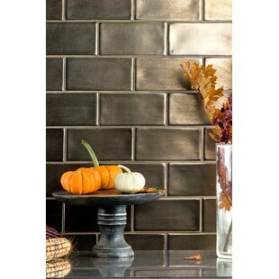 Oracle 3 X 6 Ceramic Subway Tile In Copper