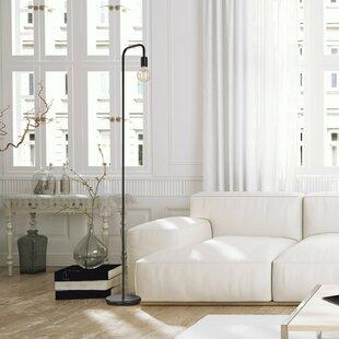 Modern contemporary floor lamps allmodern blairwood eleonor 70 arched floor lamp aloadofball Images