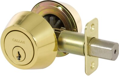 New Double Cylinder Keyed Entry Door Knob