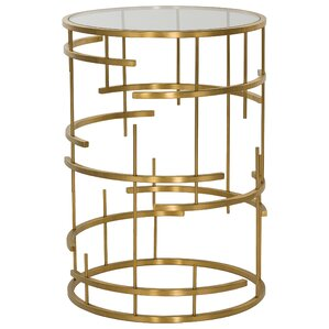 Reynaldo Round End Table by Willa Arlo Interiors