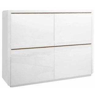 Prana 4 Door Accent Cabinet