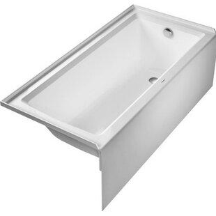 Architec 66 X 32 Alcove Soaking Bathtub