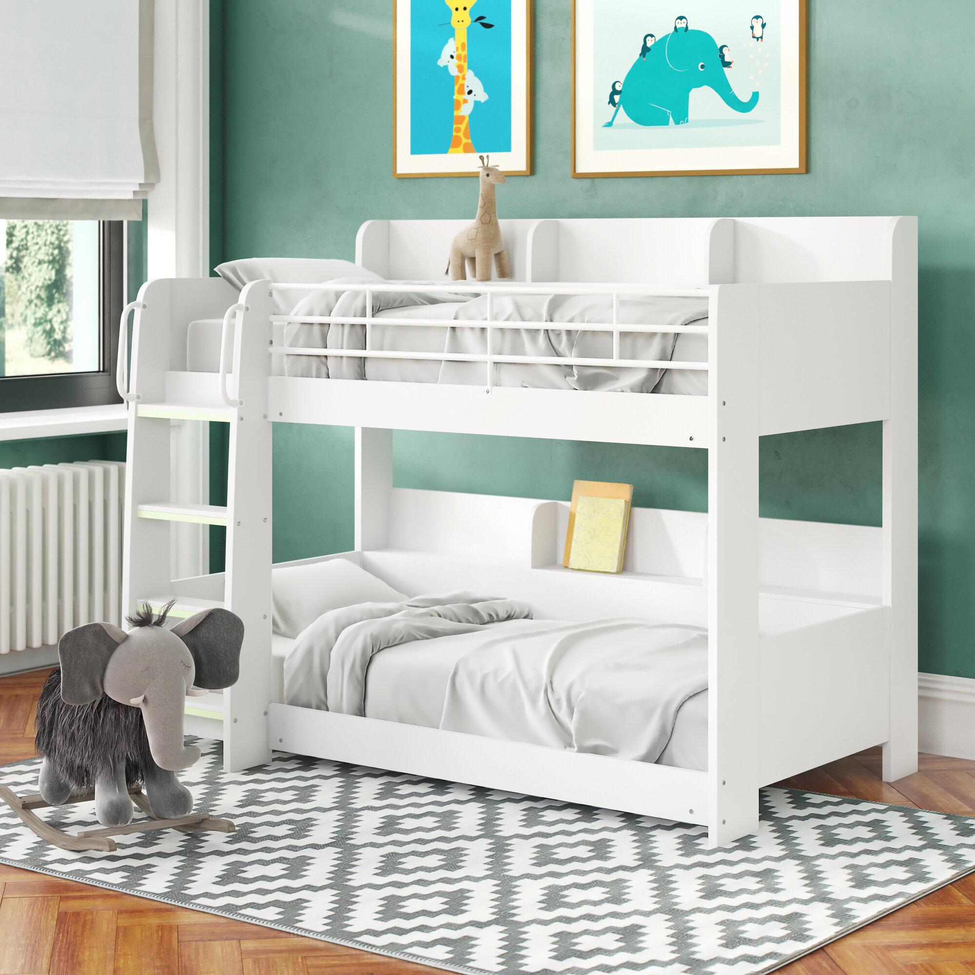 Just Kids Abby Kelly Single Bunk Bed Reviews Wayfair Co Uk
