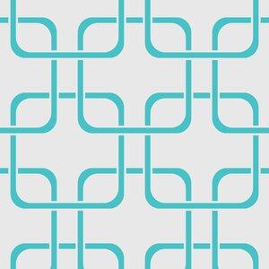 Cubix Geometric Panel 54'' H x 26'' W Wallpaper