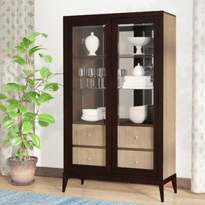 Coletta Lighted China Cabinet by World Me..