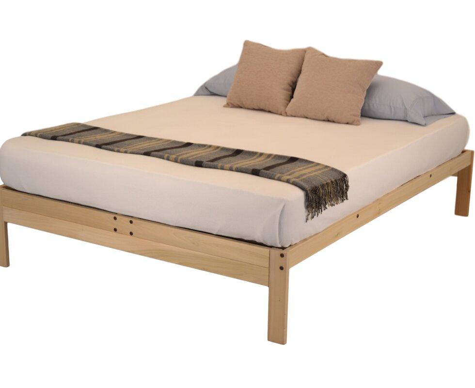Wayfair Queen Bed Platform Wayfair Canada Queen Bed Frame: KD Frames Nomad 2 Platform Bed & Reviews